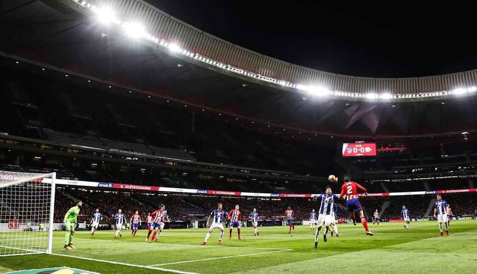 temporada 17/18. Partido Wanda Metropolitano. Atlético Alavés. La otra mirada.Alex