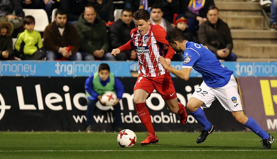 Temp. 17-18 | Copa del Rey | Lleida - Atlético de Madrid | Gameiro