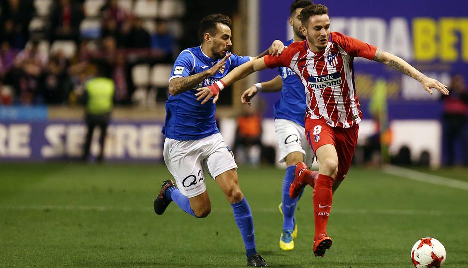 Temp. 17-18 | Copa del Rey | Lleida - Atlético de Madrid | Saúl