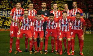 Temp. 17-18 | Copa del Rey | Lleida - Atlético de Madrid | Once