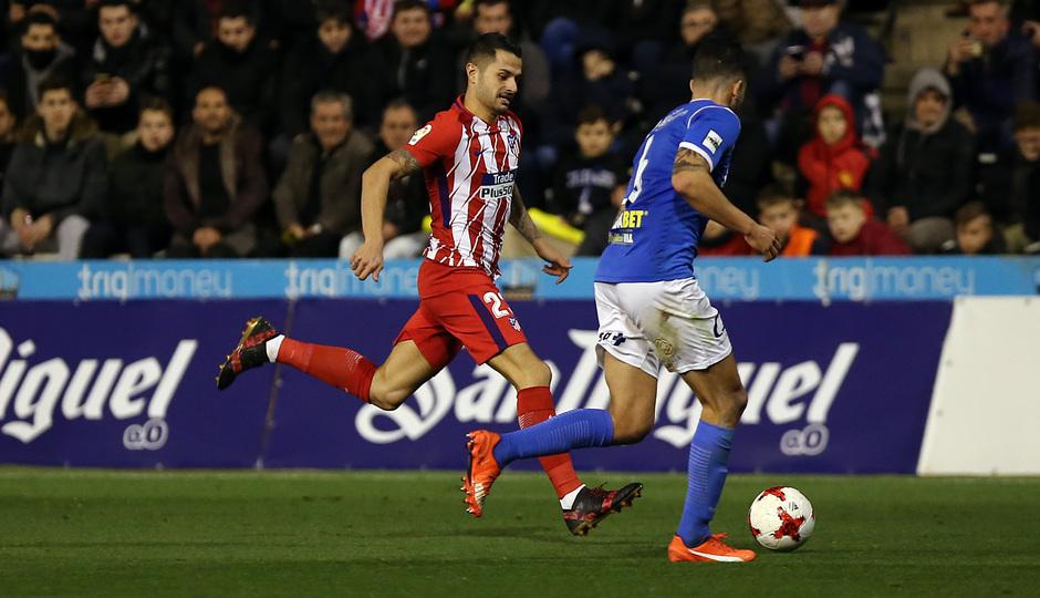 Temp. 17-18 | Copa del Rey | Lleida - Atlético de Madrid | Vitolo