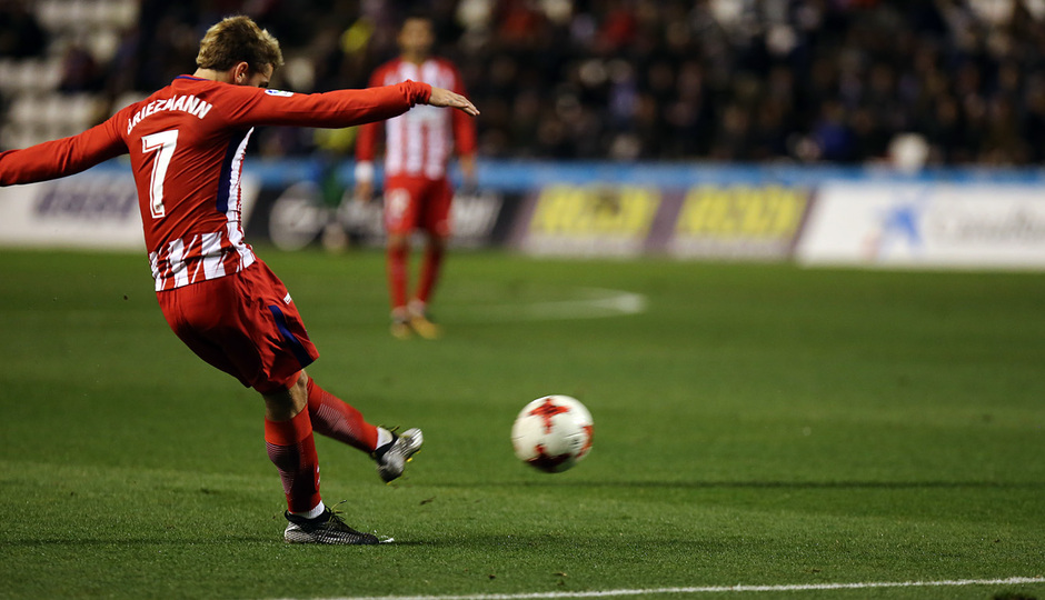 Temp. 17-18 | Copa del Rey | Lleida - Atlético de Madrid | Griezmann