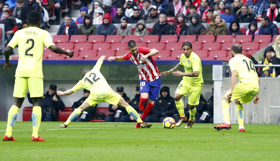 Temp. 17-18 | LaLiga| Atlético de Madrid-Getafe | Carrasco
