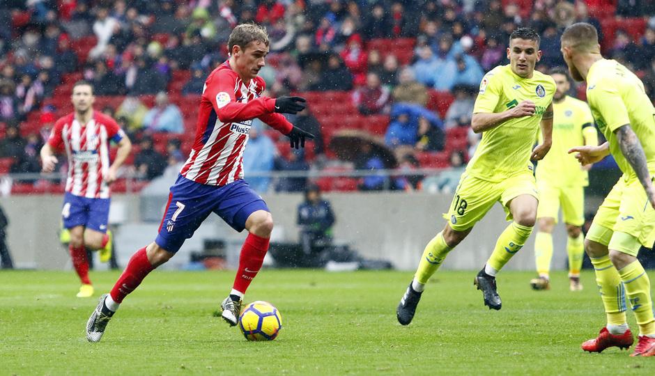 Temp. 17-18 | LaLiga| Atlético de Madrid-Getafe | Griezmann