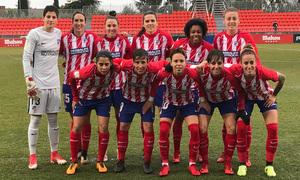 temp. 16/17 | Atlético de Madrid Femenino. Once
