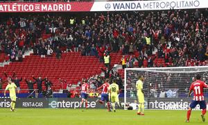Temporada 17/18 | Atlético - Getafe | Gol de Costa.