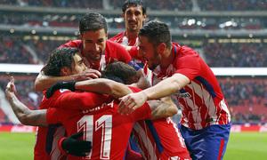 Temp. 17-18 | LaLiga| Atlético de Madrid-Getafe | Piña