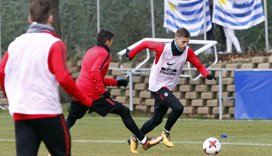 Entrenamiento 07/01/2017 | Primer equipo | Sergi