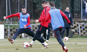 Entrenamiento 07/01/2017   Primer equipo   Torres