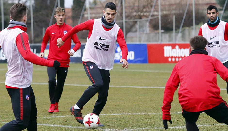 Entrenamiento 07/01/2017 | Primer equipo | Vitolo