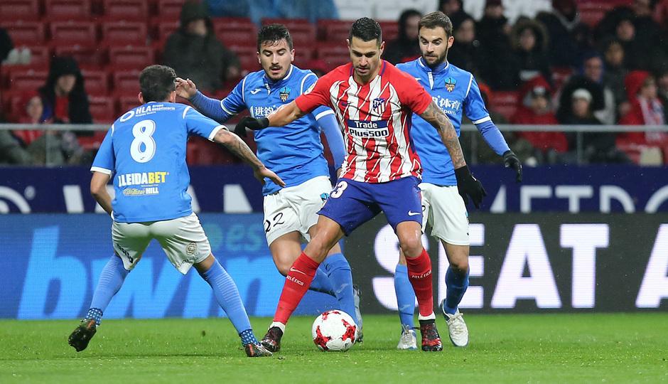 Temp. 17-18 | Atlético de Madrid - Lleida | Vitolo
