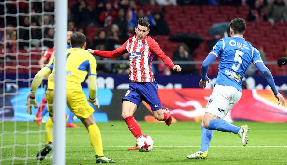 Temp. 17-18 | Atlético de Madrid - Lleida | Lucas