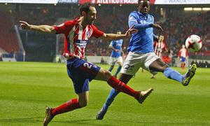 Temp. 17-18 | Atlético de Madrid - Lleida | Juanfran