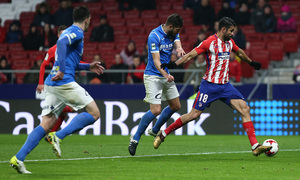 Temp. 17-18 | Atlético de Madrid - Lleida | Diego Costa
