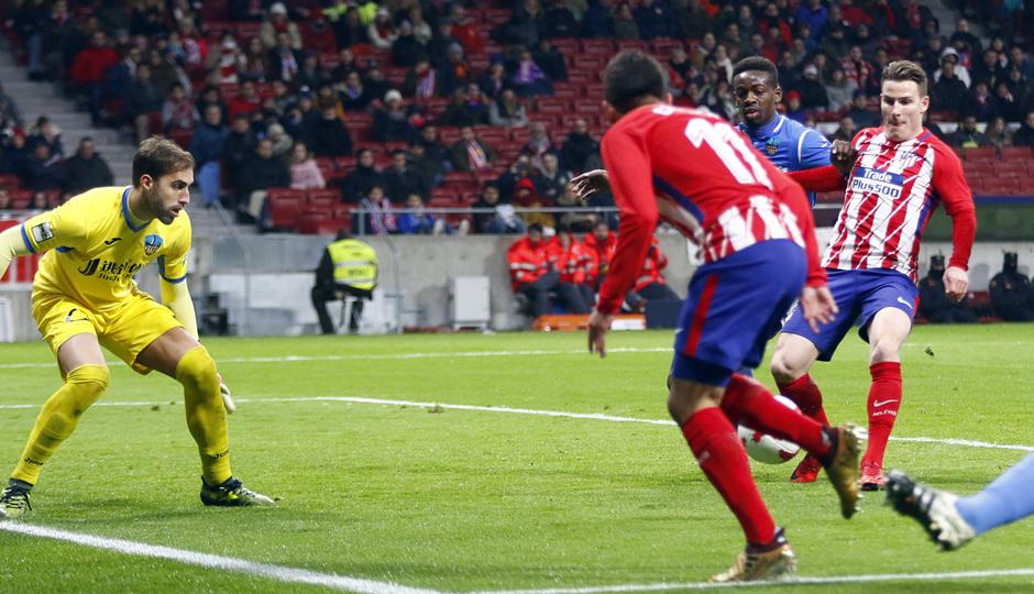Temp. 17-18 | Atlético de Madrid - Lleida | Gameiro