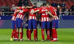 Temp. 17-18 | Atlético de Madrid - Lleida | Piña