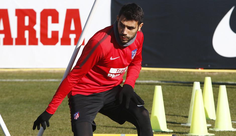 Temporada 17/18 | Entrenamiento en la Ciudad Deportiva Wanda | 11/01/2018 | Augusto