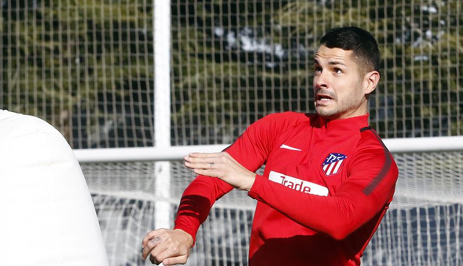 Temporada 17/18 | Entrenamiento en la Ciudad Deportiva Wanda | 11/01/2018 | Vitolo