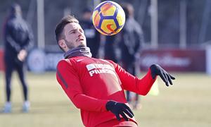 Temporada 17/18   Entrenamiento en la Ciudad Deportiva Wanda   12/01/2018   Saúl
