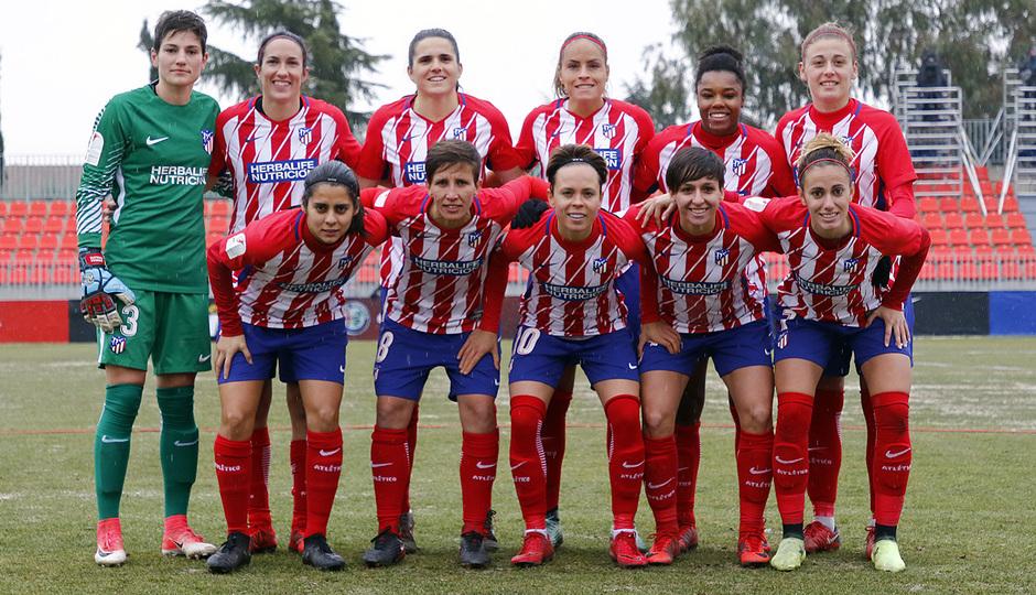 Temp. 17-18 | Atlético de Madrid Femenino - Fundación Albacete | Once