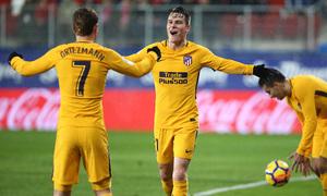 Temp. 17-18 | Eibar - Atlético de Madrid | Griezmann y Gameiro