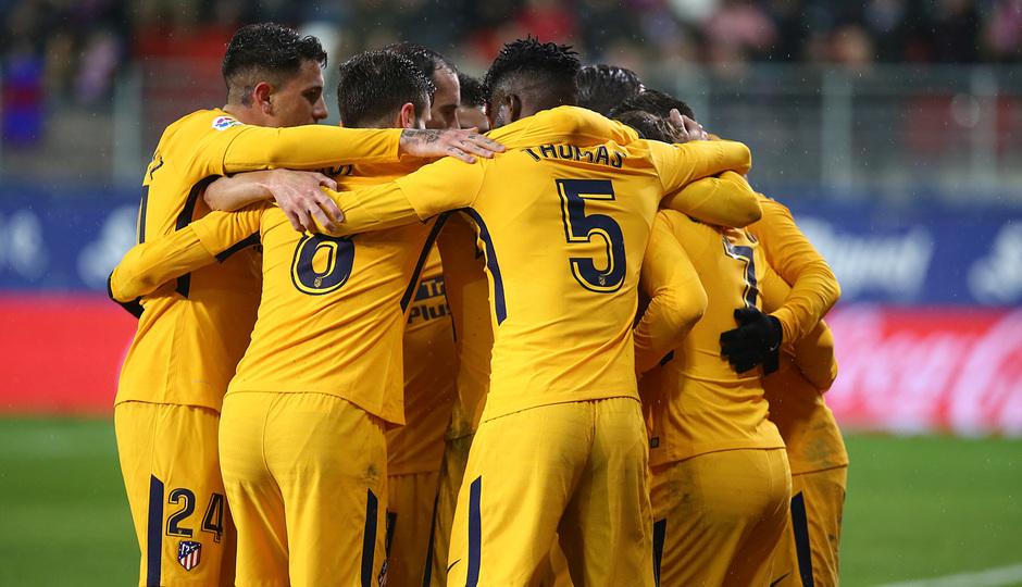 Temp. 17-18 | Eibar - Atlético de Madrid | Piña