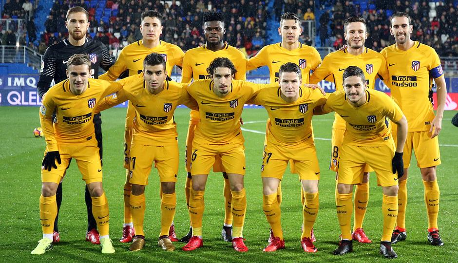 Temp. 17-18 | Eibar - Atlético de Madrid | Once