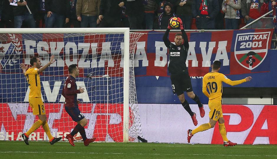 Temp. 17-18 | Eibar - Atlético de Madrid | Oblak