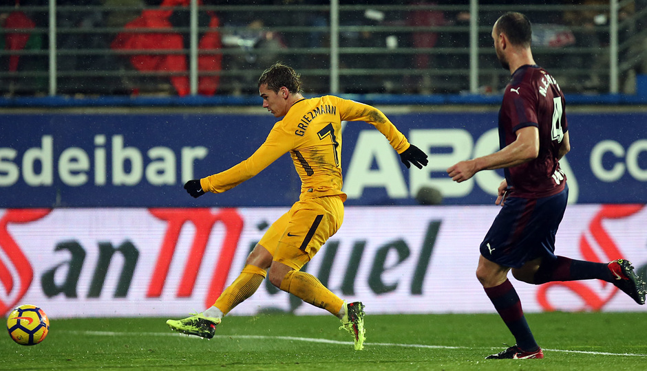 Temp. 17-18 | Eibar - Atlético de Madrid | Griezmann