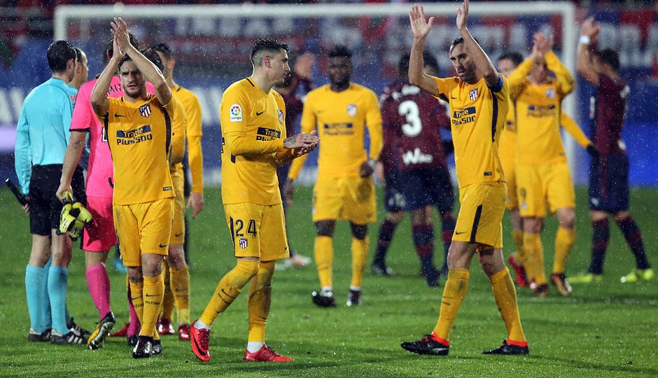 Temp. 17-18 | Eibar - Atlético de Madrid | Koke y Godín