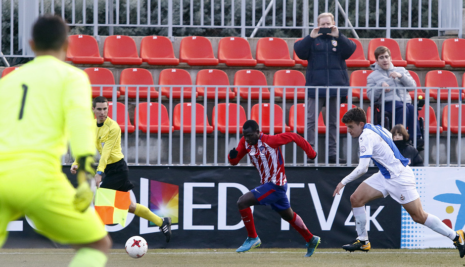 Temporada 17/18 | Atlético B - Adarve | Arona