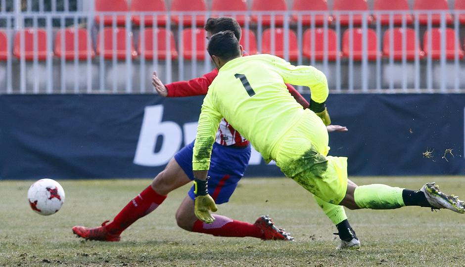 Temporada 17/18 | Atlético B - Adarve | Gol de Ródenas