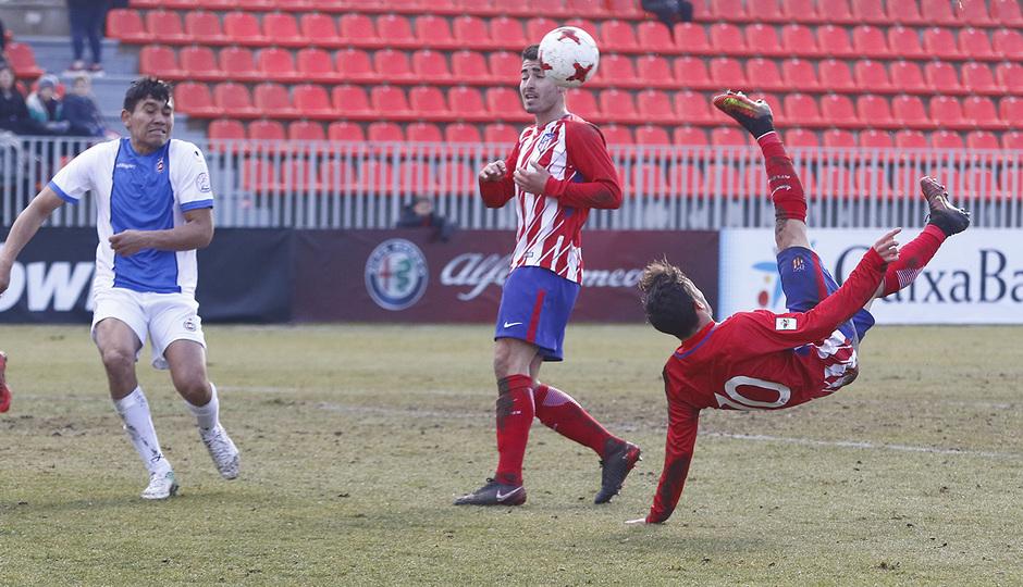 Temporada 17/18 | Atlético B - Adarve | Chilena de Jorge Ortiz