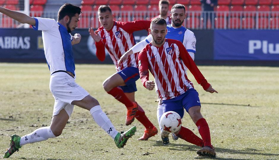 Temporada 17/18 | Atlético B - Adarve | Keidi