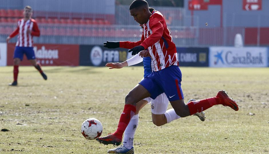 Temporada 17/18 | Atlético B - Adarve | Manny