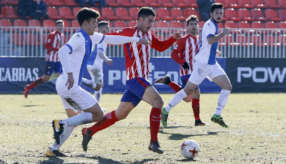Temporada 17/18 | Atlético B - Adarve | Toni Moya