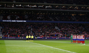 Temp. 17-18 | Atlético de Madrid - Sevilla | Ida Copa del Rey | Minuto de silencio Panadero
