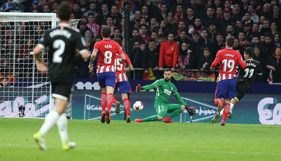 Temp. 17-18 | Atlético de Madrid - Sevilla | Ida Copa del Rey | Moyá