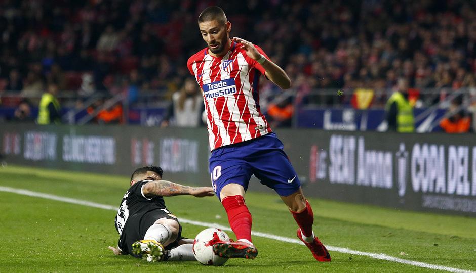 Temp. 17-18 | Atlético de Madrid - Sevilla | Ida Copa del Rey | Carrasco