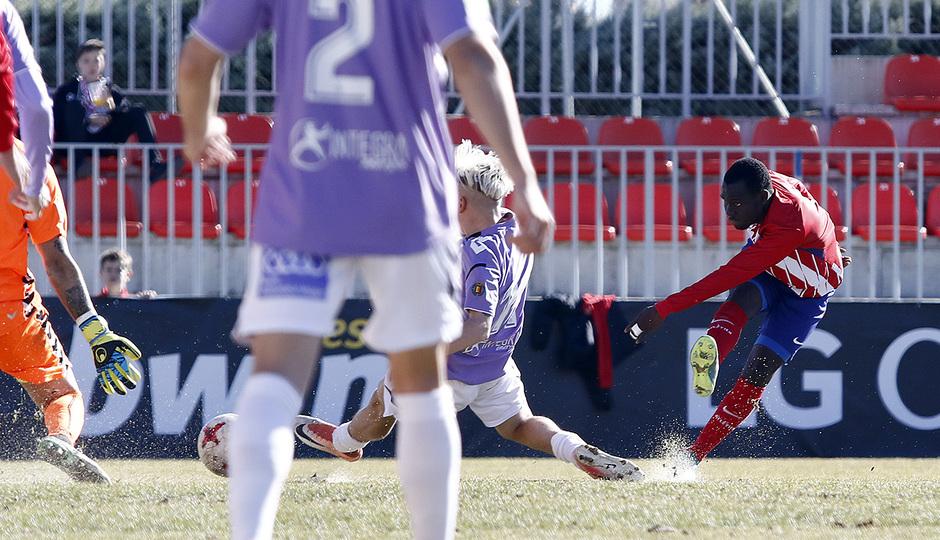 Temporada 17/18 | Atlético B - Valladolid B | Arona, gol
