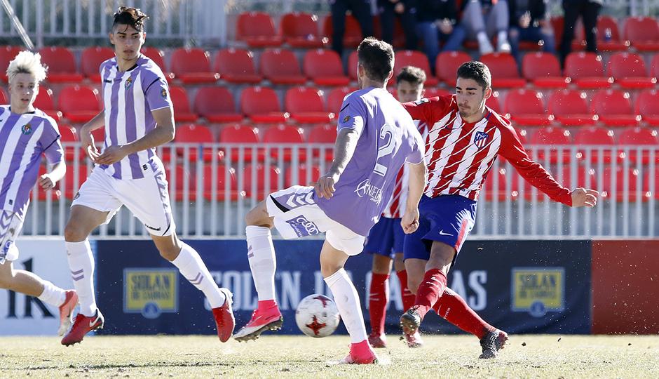 Temporada 17/18 | Atlético B - Valladolid B | Gol de Toni Moya