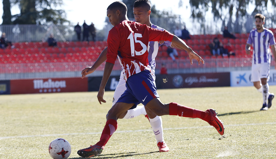 Temporada 17/18 | Atlético B - Valladolid B | Manny
