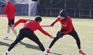 Temporada 17/18 | 26/01/2018 | Entrenamiento del primer equipo | Vitolo