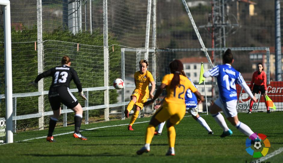 Temp. 2017-2018. Real Sociedad-Atlético de Madrid Femenino. Amanda