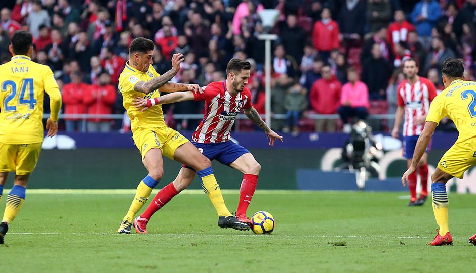 Temp. 17-18 | Atlético de Madrid - UD Las Palmas | Saúl
