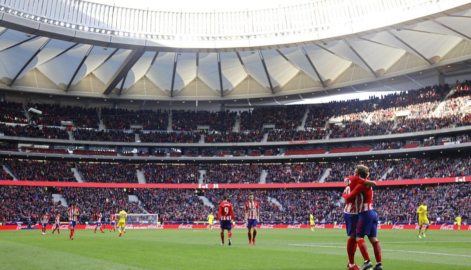 Temp. 17-18 | Atlético de Madrid - UD Las Palmas | Celebración