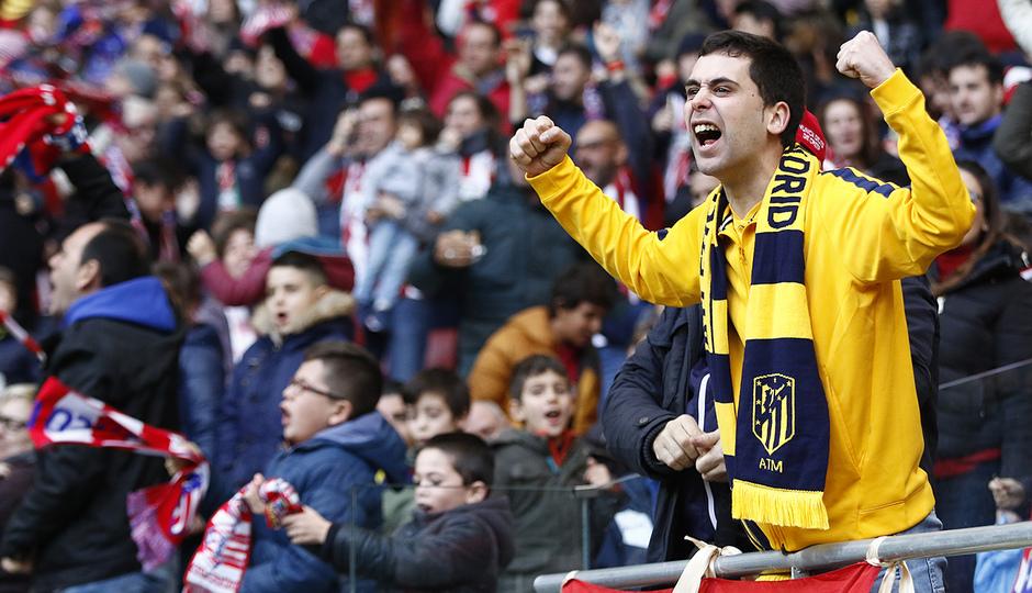 Temp. 17-18 | Atlético de Madrid - UD Las Palmas | Afición