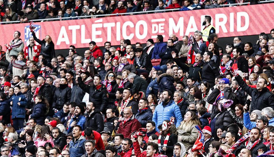 temporada 17/18. Partido Wanda Metropolitano. Atlético Las Palmas. Alberto
