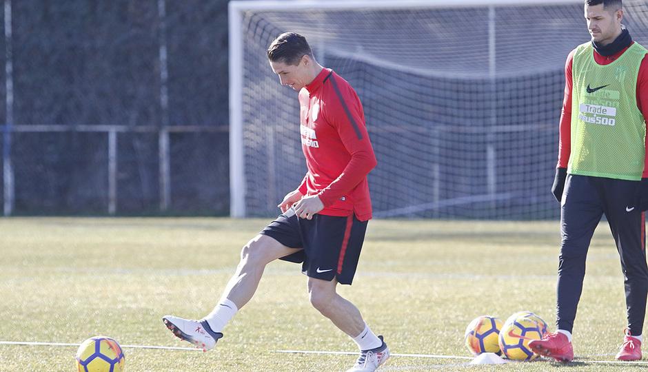 Temporada 17/18 | 31/01/2017 | Entrenamiento del primer equipo | Torres