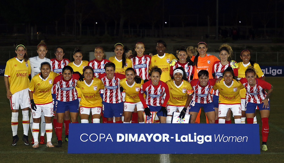 Temp. 17-18 | Atlético de Madrid Femenino - Santa Fe | Onces